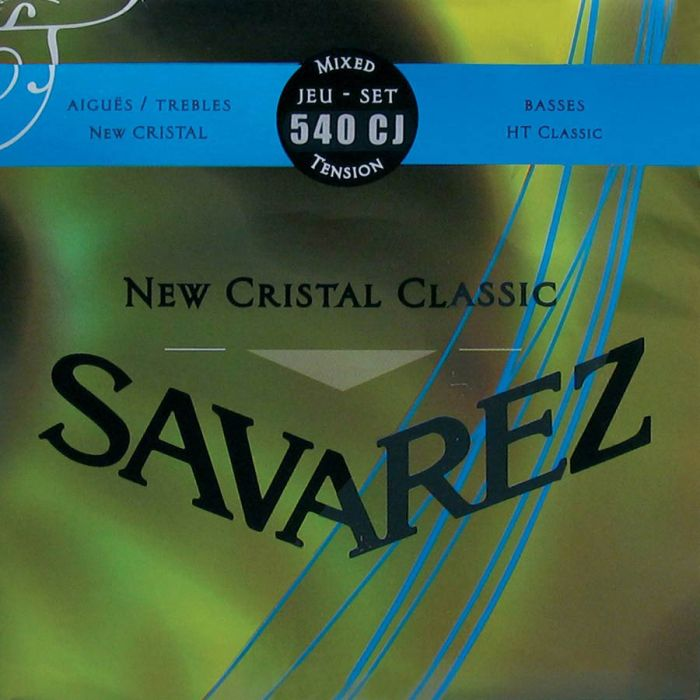 Savarez 540CJ  Hard Tension Klassieke gitaarsnaren New Cristal Classic