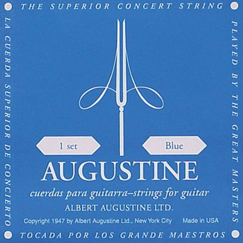 AUGUSTINE-BLUE Hard Tension/ Clear & Silver