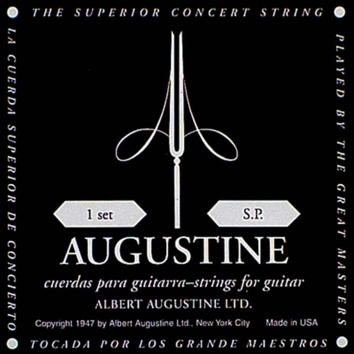 AUGUSTINE-Black   Low Tension   Clear & Silver