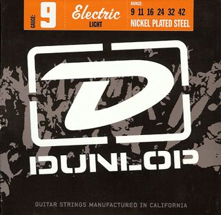 DUNLOP DEN 1066  Electric Light NPS .009/.042