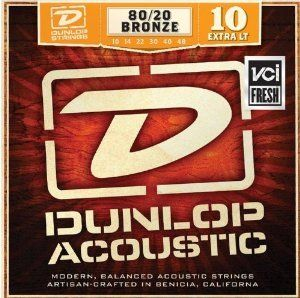 Dunlop Acoustic DAB1048 Extra Light