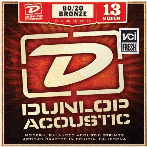 Dunlop Acoustic DAB1356 80/20 Bronze Medium