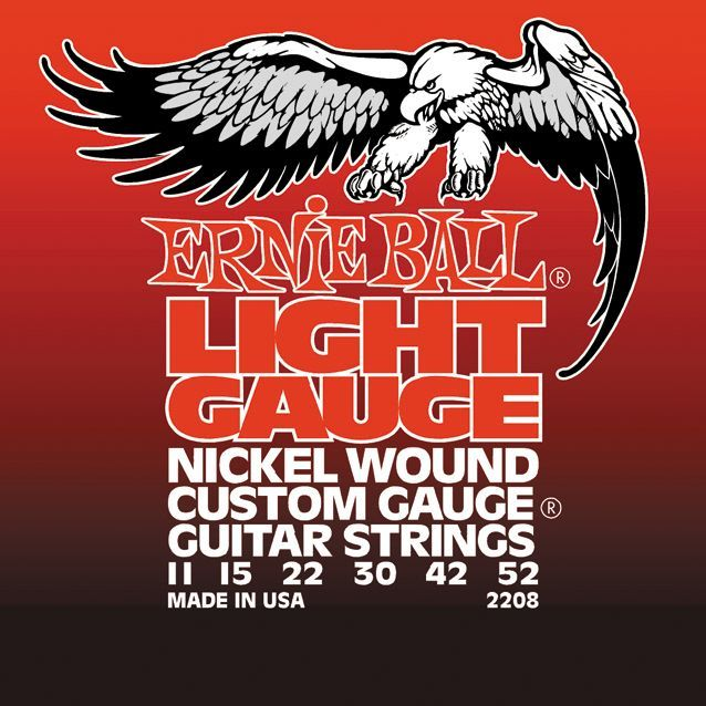 ERNIE BALL-2208  Light .011/.052  Electrisch