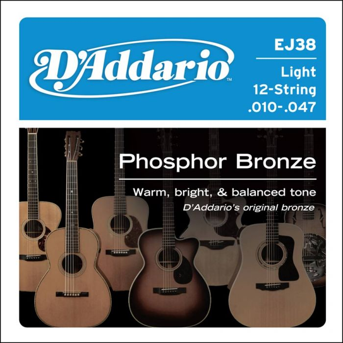 D'Addario EJ38 Light