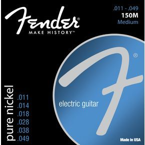 FENDER-150M  Original 150's Pure Nickel .011/.049