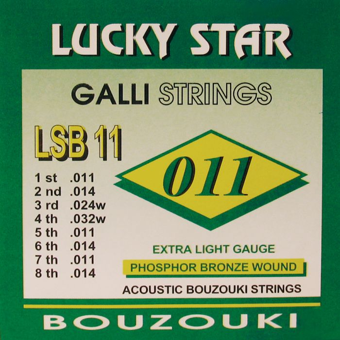 Galli LSB-11 Phosphor Bronze  Bouzouki set