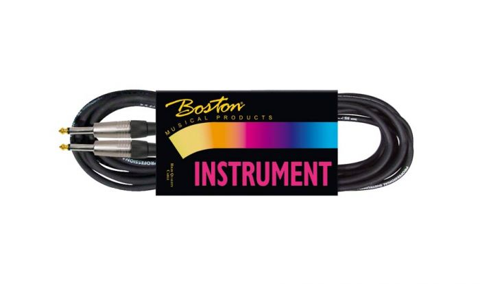 Gitaarkabel GC-105-9BK Boston Jack-Jack 9m