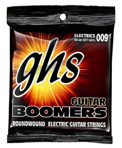"GHS-GBCL  ""BOOMERS"" CUSTOM LIGHT .009/.046"