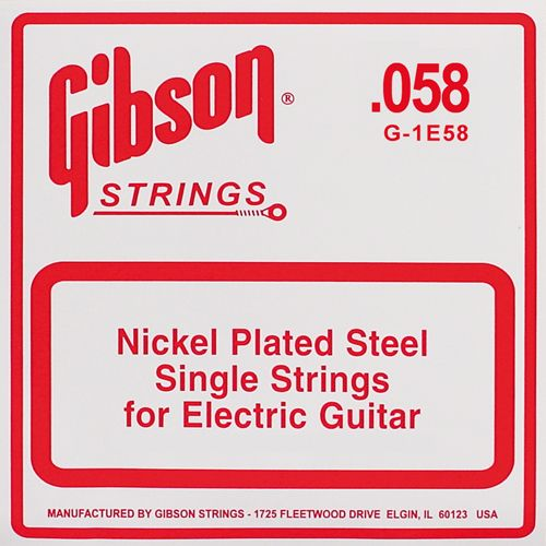 Gibson Losse snaar NW058  Nickel Roundwound