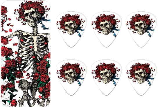 Plectra Grateful Dead GDPT01M Rosemary Dunlop