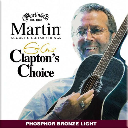 MARTIN M-EC-12  Eric Clapton/Light/Ph.Br .012/.054