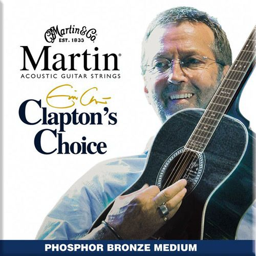 MARTIN M-EC-13  Eric Clapton/Medium/Ph.Br .013/.056
