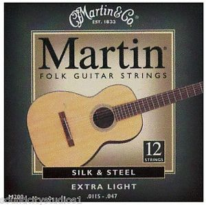 MARTIN M-200  12-string set Silk&Steel .0115/.047