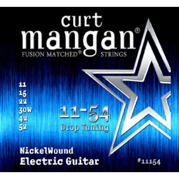 Curt Mangan #11154 Drop Tuning