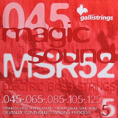 Galli MSB-45125 Bassnaren 5 Snarig Medium .045/.125