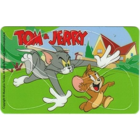 PIKCARD PLECTRUM CREDITCARD TOM & JERRY