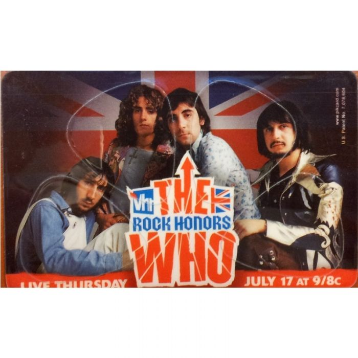 PIKCARD PLECTRUM CREDITCARD THE WHO