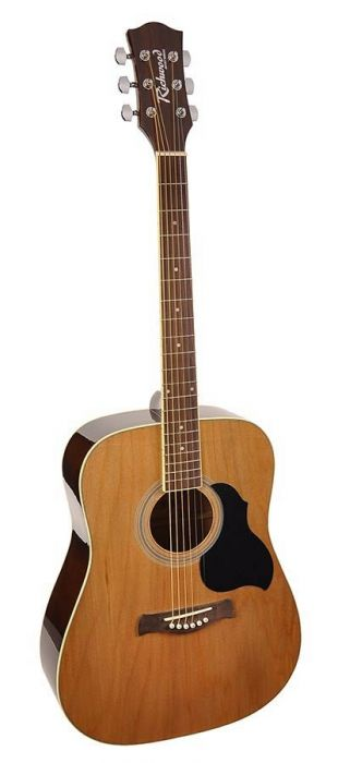 Richwood Western Gitaar RD-12 Dreadnought Naturel Artist Series