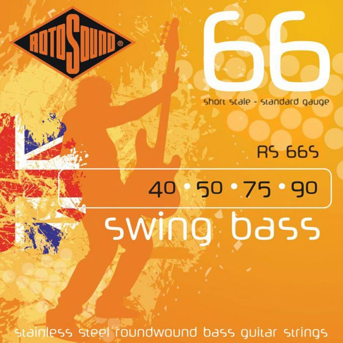 Rotosound RS-66-S Swingbass Shortscale .040/090