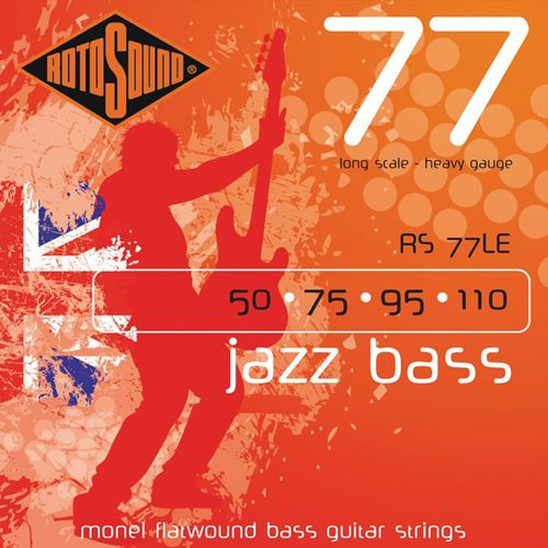 Rotosound RS-77-LE Jazz Bass/Flatwound .050/.110