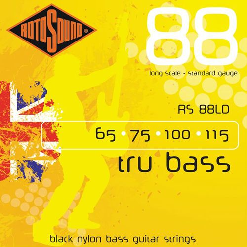 Rotosound RS-88-LD TRU Bass/Nylon Flatwound .065/.115