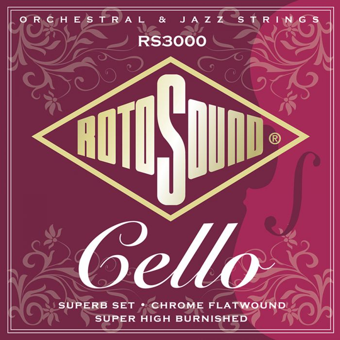 Rotosound RS3000 Orchestral & Jazz snarenset cello