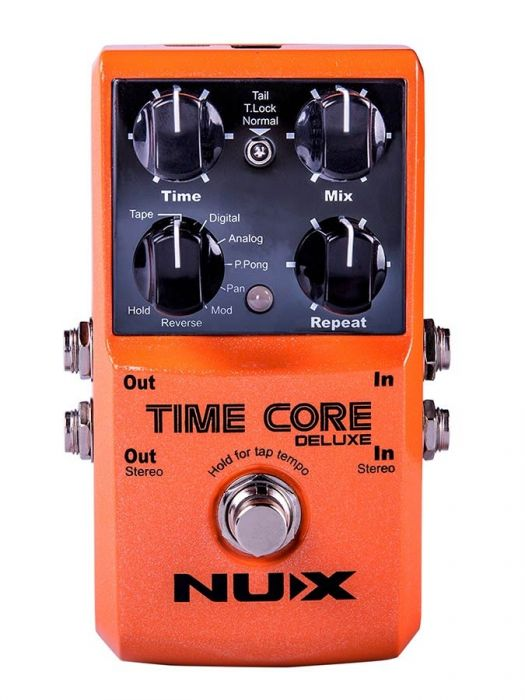 NUX Core Series delay/looper pedal TIME CORE DELUXE
