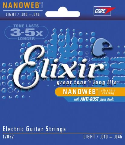 ELIXIR 12052  Nanoweb Light .010/.046w