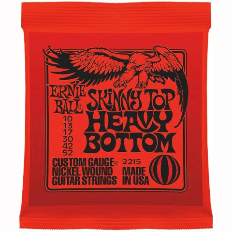 ERNIE BALL-2215  Skinny TOP/Heavy Bottom .010/.052