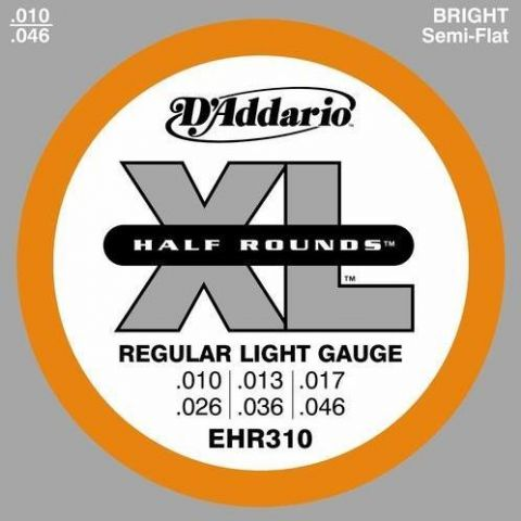 D'Addario EHR310 Half Round Regular Light 010-046 ***SALE***