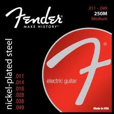 FENDER-250M  Super 250's Nickel Roundwound .011/.049
